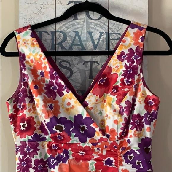 Donna Ricco Dresses & Skirts - Donna Ricco Sleeveless Floral Dress Sz 4
